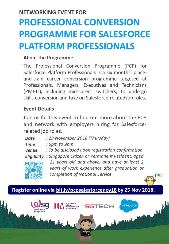 SGTech PCP Networking Event